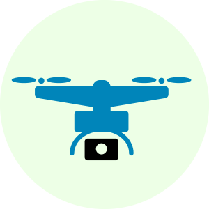 Aerial Photography Icon